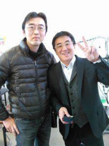 横倉先生とツーショット(´ω`)