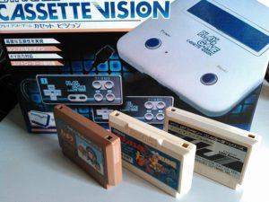 ファミコン互換機とカセット3本!